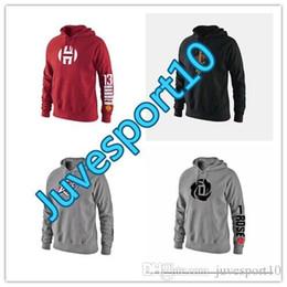 Wholesale Mens Zipper Sweaters - hot Men's clothing 17-18 winter jackets men coat mens hoodie zipper jacket NO.1 TMAC McGrady rocket printing sweater sweatshirt mens ja