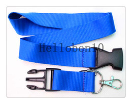 Wholesale Free Digital Compass - Factory direct selling! Some are pure Sky blue mobile Key chain camera ipad lanyard most girls love, free delivery
