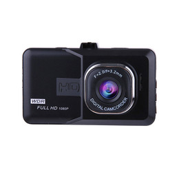 широкоугольная автомобильная камера dvr Скидка ENKLOV Car Dash Camera Car DVR With 1080P Dash Cam120 Wide Angle Driving Recorder Camera Speak English Car-detector