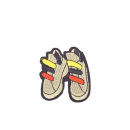 Wholesale Garment Shoes - Diy Shoe Fabrics Badges Patches for Clothing Cartoon Patch Cloth Sewing Embroidered Patches for Applique Iron on Jackets Garment Accessories
