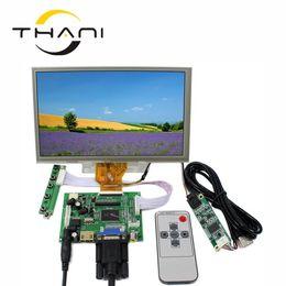 "Панель vga lcd онлайн-Thani HDMI VGA 2AV LCD Control Driver Board+ 8"" AT080TN64 800x480 With Touch Panel high-definition LCD Display For Raspberry Pi"