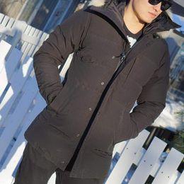 Wholesale Mens Winter Down Coats Sale - Buy Winter Down Parkas Mens Zippers Jacket Brand Designer Long Parka Men Warm Coat Design Outdoor Coats XXXL Plus Size Best Sale