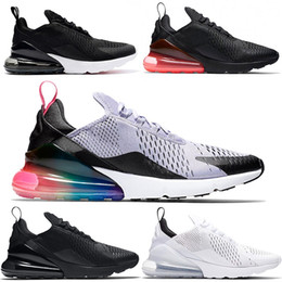 Nike Air Max 270 Airmax the details page for more logo Chaussures de course  pour hommes femmes 270s Betrue Hot Punch Oreo Triple Noir Blanc Turquoise  Photo ... df87e95aeaa7