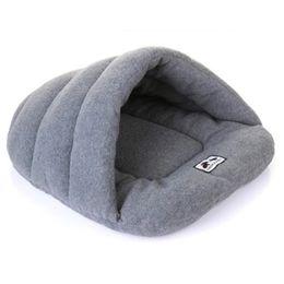 Pantofole di qualità online-Inverno Caldo Pantofole Stile Letto per cani Pet Dog House Lovely Soft Adatto Cat Dog Bed House per animali domestici Cuscino Prodotti di alta qualità