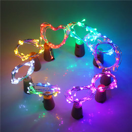 string shapes Coupons - Bottle Lights Cork Shaped Mini String Lights Wine Bottle Fairy Strip Battery Operated Starry Lights For DIY Christmas Wedding Party
