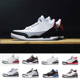Wholesale Pvc Logos - (New Logo) NRG Tinker Free Throw Line black white cement III Basketball Shoes Sports Katrina Sport Man Sneakers Men designer Shoe 41-47