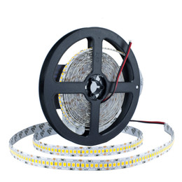 2835 LED de alta luminosidad tira 5M 1200 LED12V LED Flexible PCB 10mm retroiluminación LED Blanco cálido blanco 240 LED / m desde fabricantes