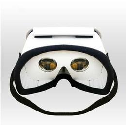 google cardboard Скидка Горячие DIY портативный виртуальной реальности очки Google картон 3D очки VR Box для смартфонов для Iphone X 7 8 VR очки для ТВ лежа