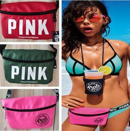 Wholesale Best Women Style - Handbags Bags Pink Beach Waist Bag Women Purses Secret Good quality Quality Travel Bags Best Gifts 21 styles DHL Free Shipping