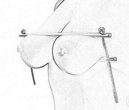 Deutschland Neue BDSM einstellbare Folter spielen Klammern Käfig Nippel Clips Brust Bondage Fesseln Metall weibliche Fetisch erwachsenes Geschlecht Spielzeug für Frauen Y18100702 cheap bdsm clips female torture Versorgung