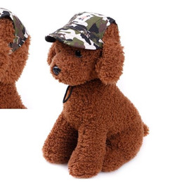 Wholesale Male Hiking Cap - Pet Dog Canvas Hat Sports Baseball Cap with Ear Holes Summer Outdoor Hiking for Small Dogs Size S M Pet Supplies p98