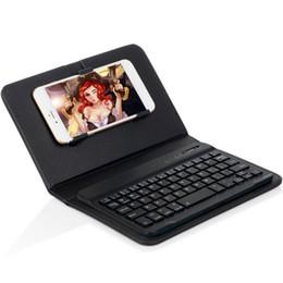 Oppo bluetooth on-line-Mais novo caso de telefone celular com bluetooth 3.0 teclado flip capa de couro case para apple iphone samsung htc xiaomi huawei vivo oppo