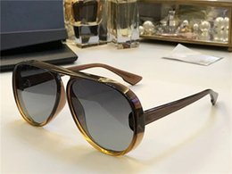 Wholesale resin making - New Women Popular Brand Lia Sunglasses Aviator Oversized Sunglasses Made of super-light special material design unisex New come with Box