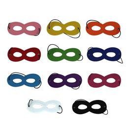 2019 decorações de super-heróis Crianças Halloween Cosplay Mask Máscara de Festa de Feltro Máscara de Decoração Capa de Máscara de Super-heróis decorações de super-heróis barato