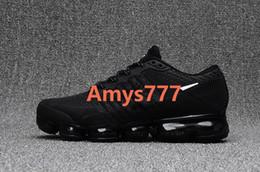 Wholesale Mens Casual Winter Shoes - Mens VaporMax 2018 KPU Sneakers Casual Walking Shoes Man Zapatillas 12 Colors Size 40-47