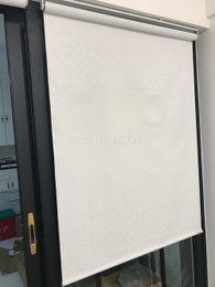 2019 ролик дистанционного управления top quality 100% polyester roller blinds roller blind Thermal Insulated Sun blinds cordless rolled Curtains