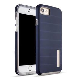 Cajas de teléfono moto g3 online-Para LG Q6 G6 G5 caso híbrido antideslizante armadura duro resistente carcasa de la caja del teléfono de protección TPU para G4 G3 MOTO E4 más