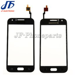 parts for huawei Promo Codes - 10pcs lot High Quality Touch Screen Glass Digitizer Panel Replacment Parts with LOGO for Samsung Galaxy J1 J100 J100F J100H
