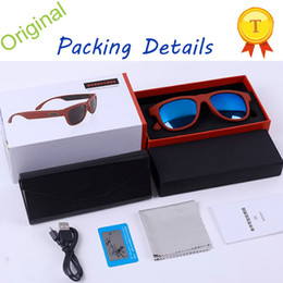 Wholesale Bluetooth Phone Sunglasses - 2018 Toptronics New Technology Product Bone Conduction Glasses Wireless Bluetooth Smart Control Sunglasses Smart Glasses