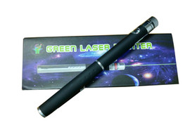 laser heads Promo Codes - Xmas Gift Green laser pointer 2 in 1 Star Cap Pattern 532nm 5mw Green Laser Pointer Pen With Star Head Laser Kaleidoscope Light