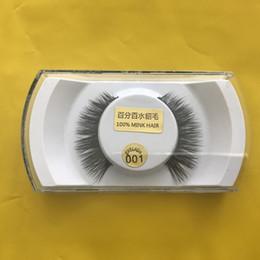 3D накладные ресницы высокое качество 100% ручной норки волос глаз ресницы натуральный длинный толстый для красоты макияж от