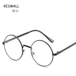 18b5fe57abc KESMALL Newest Fashion Myopia Eyeglasses Frames Women Brand Design High  Quality Glasses Frame Lunette Ronde Vintage De Vue XN864