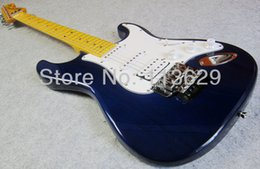 Wholesale Stratocaster Electric - Factory wholesale New Arrival!! Electric Guitar,Ash Body, Strat Guitar with Double Locking Tremolo, Stratocaster Electric Guitar, Transparan