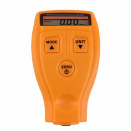 Medidor de espesor por ultrasonidos online-GM200 Medidor de espesor de pinturas y barnices Medición de medidores Medidor de pintura Tester Ultrasonic Film Mini Medidor de herramienta TE323