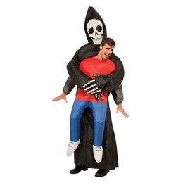 Wholesale Inflatable Carnival - Adult Inflatable Air Costumes Big Giant Mascots And Mascotte Clown Captain Pirate Anime Halloween Costume