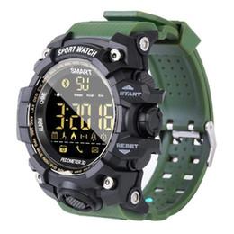 support intelligent compatible apple ios Promotion EX16S imperméable à l'eau Bluetooth Smart Watch poignet téléphone Mate Sports Fitness pour Android IOS avec la boîte au détail
