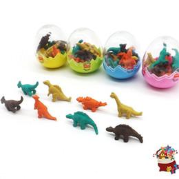 Cacciatori di animali online-Creativo per bambini Gomma Belle uova di dinosauro Gomme Animali Dinosauri a forma di forniture Forniture di cancelleria Colori multipli 0 65xh B