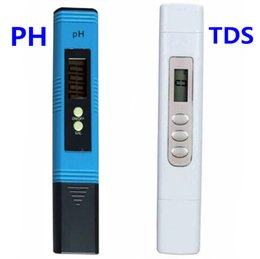 Wholesale Tds Test Pen - Digital PH Meter Acidity Testing Pen and TDS Tester Filter Hydroponics Measure Water Quality Purity Aquarium Pool Moniter 30%OFF