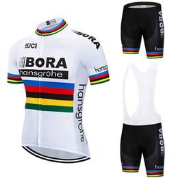 2018 велосипед команды BORA hangsgrohe Велоспорт наборы Велоспорт одежда Велоспорт Джерси лето открытый рубашка мужчины от Поставщики командная одежда