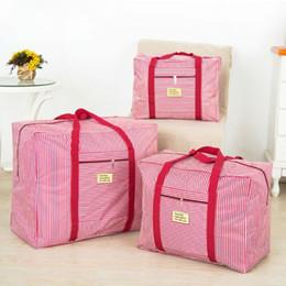 Bolsas de tela online-Bolso de viaje de tela Oxford de Wulekue Bolso impermeable Bolsa de ropa Barra de corbata Equipaje Para viajes