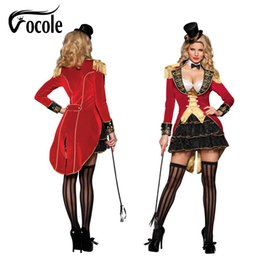Vocole Sexy Halloween Clown Circus Costumes Adult Womens Cosplay Fancy  Dress Carnival Party Queen Mini Dress discount circus costumes adults 9f792cff7fc2