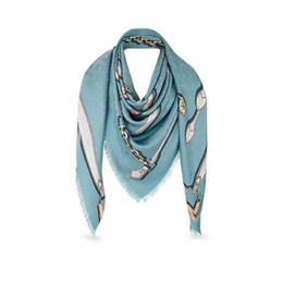 Wholesale womens wool scarves - Silk scarf Classic European Designer Womens Skull Print Wool silk elegant Scarf Elegant popular Ladies for women Wrap