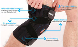 Wholesale Compression Brace - AOLIKES 1PCS Adjustable Hinged Wraparound Knee Brace Patella Compression Knee Supports Kneepad Relief for Football Basketball