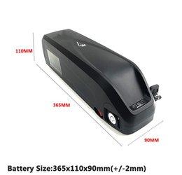 Batterie europee online-Spedizione gratuita in Europa ad alta potenza 18650 bici elettrica batteria al litio 750 w 48v pacchi batteria 17AH per bicicletta con caricabatterie 2A gratis