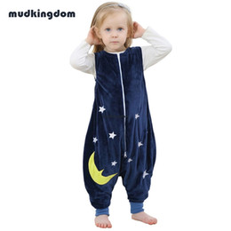 Wholesale Girls Onesie Pajamas - Mudkingdom Kids Baby Girls Animal Flannel Christmas Pajamas Sleepwear Boys Zipper Onesie Home Clothes Children Casual Robes