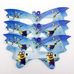Wholesale Minion Covers - 10pcs Minions Cartoon Pattern Theme Paper Party Masks kids Birthday Party Decorations Christmas Eye Cover Party Supplies