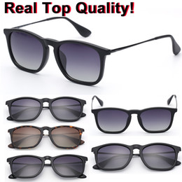 Wholesale Resin Model Ships - 4187 brand sunglasses top quality polarized lenses chris model woman man sun glasses shades de oclus with top quality packages free shipping