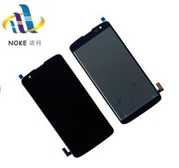 touchscreen digitizer parts 2018 - Touch Screen Sensor Digitizer LCD Display For LG Escape 3 Cricket K373 K371 K370 TouchScreen Assembly Mobile Smartphone Parts