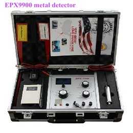 Wholesale gold diamond detector - New upgrade king gold silver copper tin jewel metal detector EPX9900 treasure hunter long diamond finder