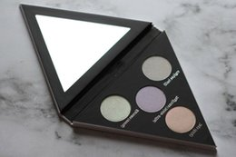 Wholesale Shooting Water - In Stock ! Alchemist Holographic Eyeshadow Palette 4 Colors Highlighter Palette High Quality Real Shot Free Shipping