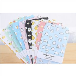Wholesale Cute Stationery Envelopes - Wholesale- 5pcs lot Cartoon Cute eggs envelope writing paper stationery kawaii birthday christmas cpostcard Gift cards to friends