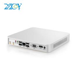 2019 escritorio intel i5 XCY Mini PC Intel Core i7 6500U i5 6200U i3 6100U Celeron N3160 Windows 10 4GB 8GB DD HTPC 4K PC de escritorio HDMI VGA WiFi escritorio intel i5 baratos