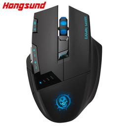 Hongsund C50 kablosuz fare masaüstü bilgisayar oyun faresi İnternet led CF profesyonel 7d USB nereden