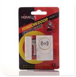 2019 système de sécurité à numérotation automatique Bonne qualité Homelus MC06-1 Système d'alarme de porte fenêtre Système d'alarme MC06 Protégez votre maison Livraison gratuite