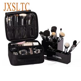 Wholesale Vanity Boxes - Vanity Brand Women Cosmetic Bag Travels Cosmetics box bag Organizer neceser beautician Portable Make up cases makeup pouch