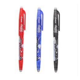 canetas finas de gel Desconto Piloto FriXion Bola Gel Canetas Apagáveis Caneta Elfinbook Fine Point Tintas Preto / Azul / Vermelho
